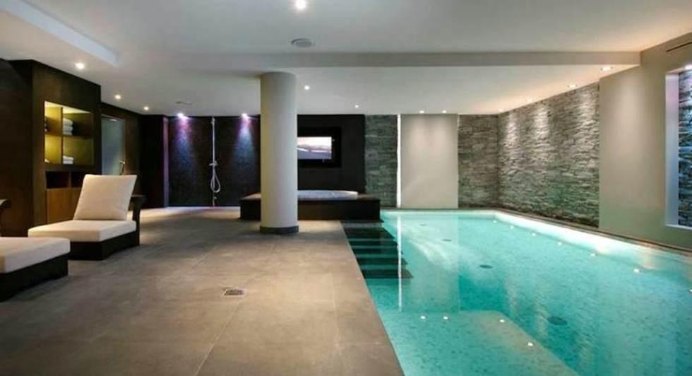 Luxus schlafzimmer mit pool  INFINITY REISEN | Chalet de lux 1093
