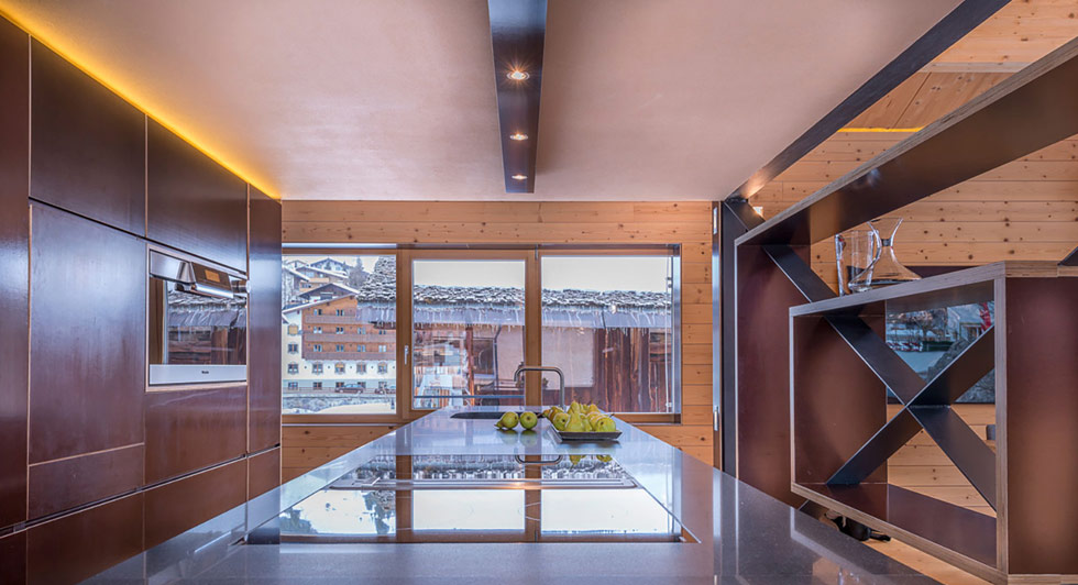 Außenansicht Außenansicht Essbereich Küche Wohnbereich Wohnbereich Schlafzimmer  Schlafzimmer Wohnzimmer. Das Luxus Design Chalet ...