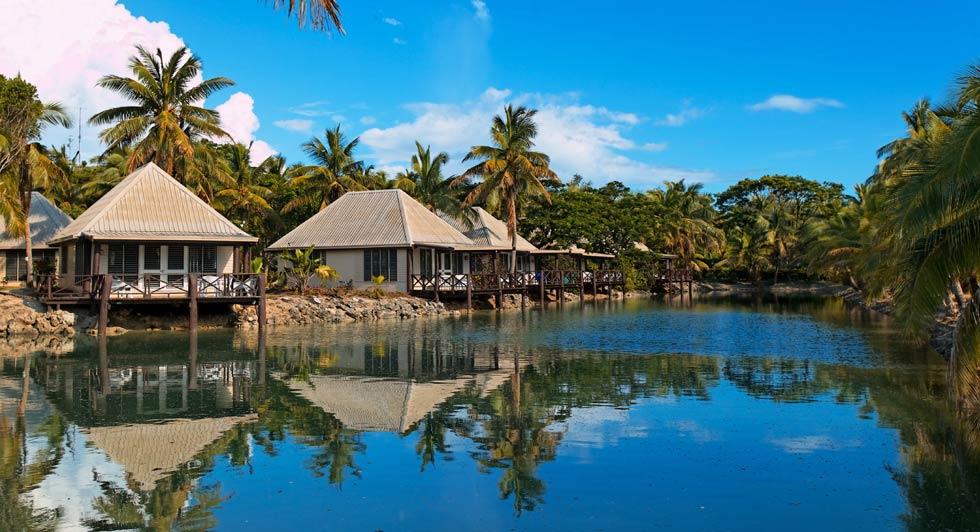 Musket Cove Island Resort Garden Bure